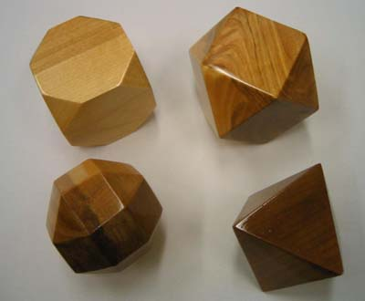 Set of 5 open-faced Platonic solidsImages Of Solids