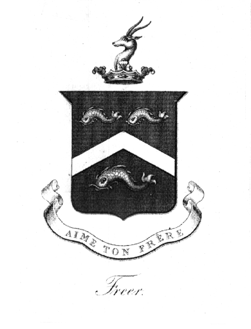 Freer Family Genealogy Research A List Of Freer Coat Of Arms