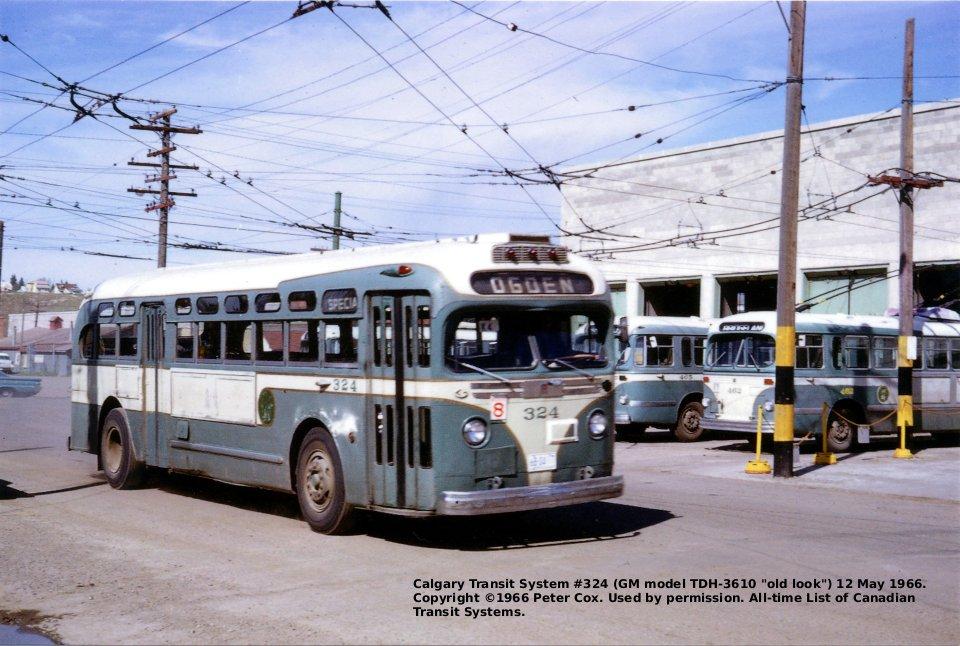 Transit History Of Calgary Alberta