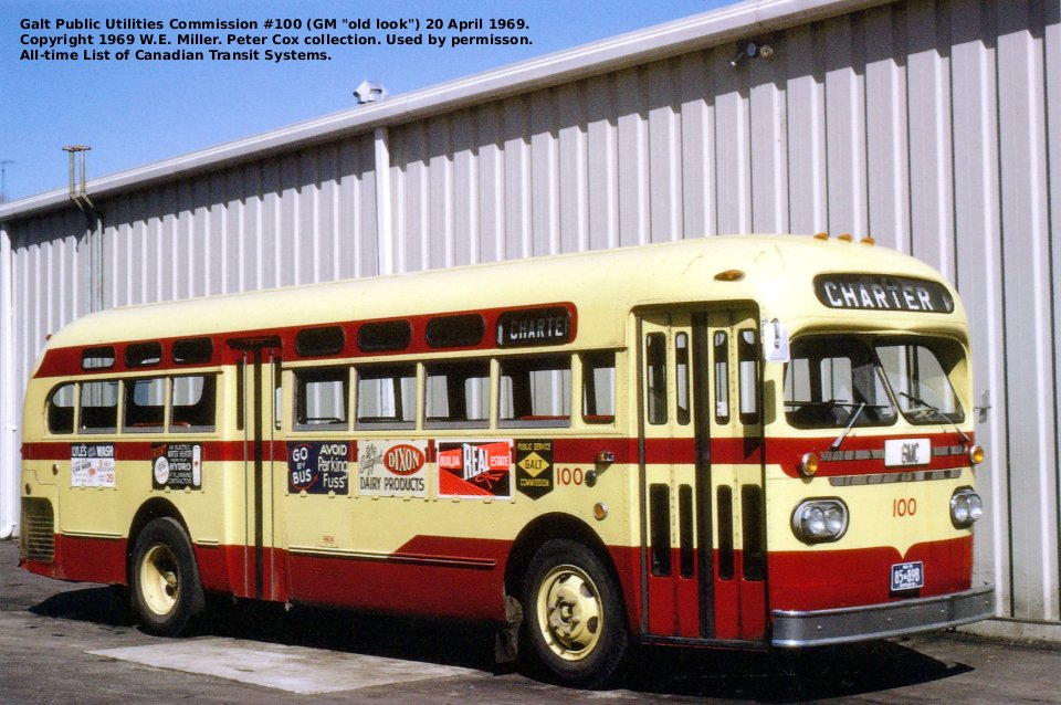 Transit History Of Kitchener Cambridge Ontario