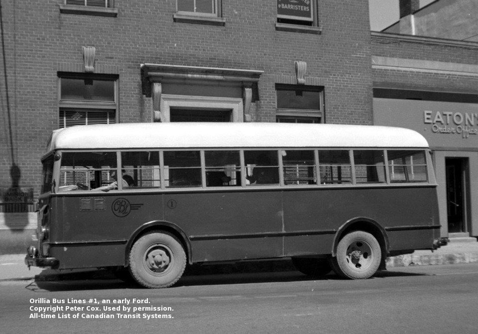 Transit History of Ontario Communities (O-R)