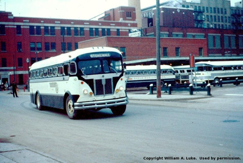 Suburban Winnipeg Buses By William A Luke