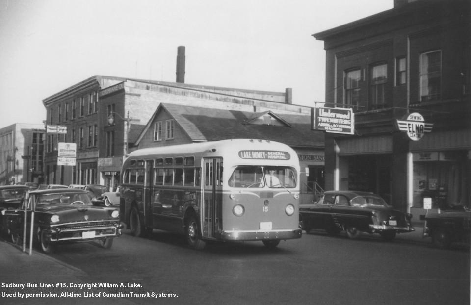 Transit History Of Greater Sudbury Ontario