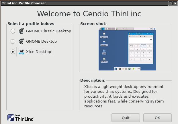 Cendio Thinlinc Desktop Client