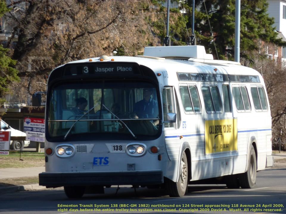 Transit History Of Edmonton Alberta
