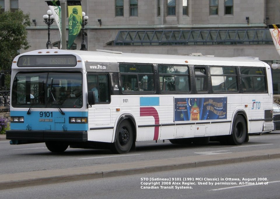 Transit history of gatineau outaouais quebec for Classic house 1991