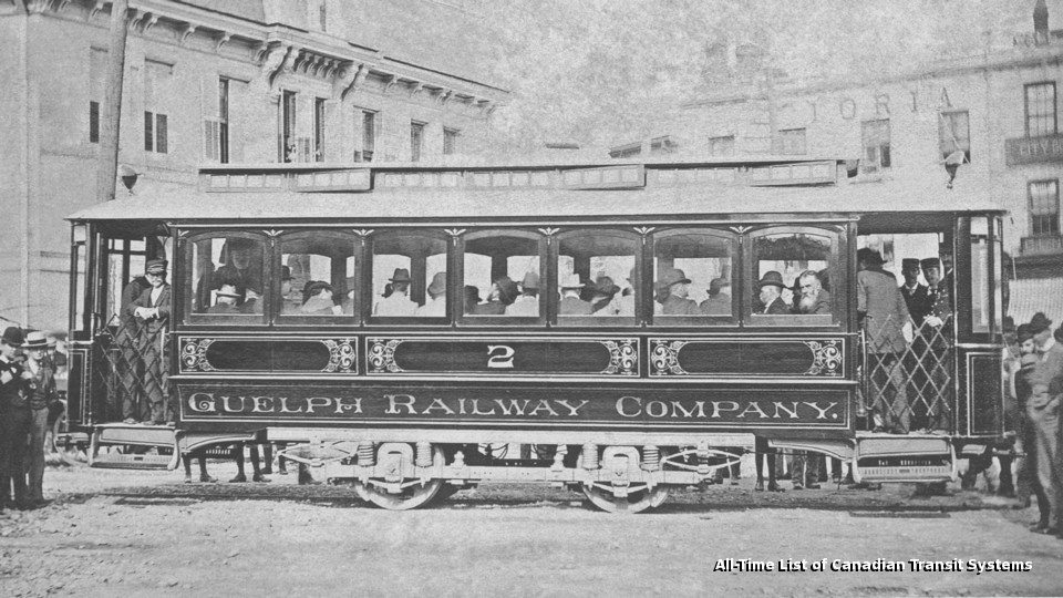 Transit History of Guelph, Ontario