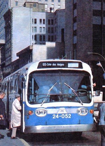 Montreal General Motors New Look Bus