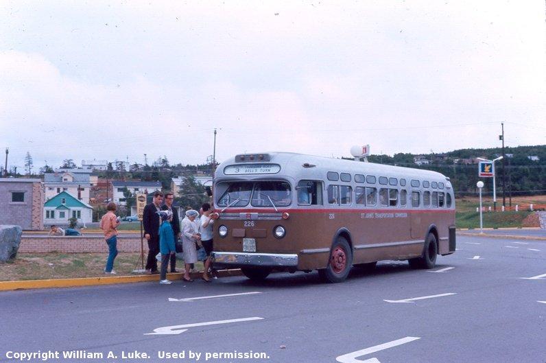Transit history of st john 39 s newfoundland labrador for Classic house nl