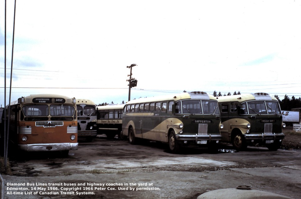 History Of Regional Transit At Edmonton Alberta